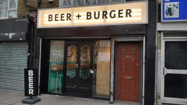 Image of Beer + Burger (Dalston)