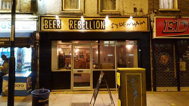 Image of Beer Rebellion Sydenham