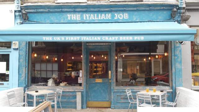Image of The Italian Job (Chiswick)
