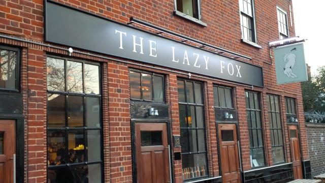Image of The Lazy Fox