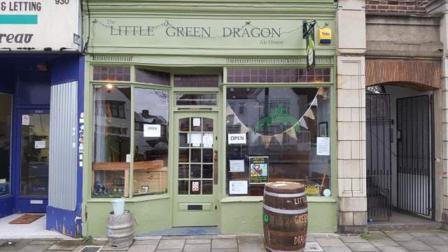 Image of The Little Green Dragon