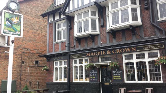 Image of Magpie and Crown
