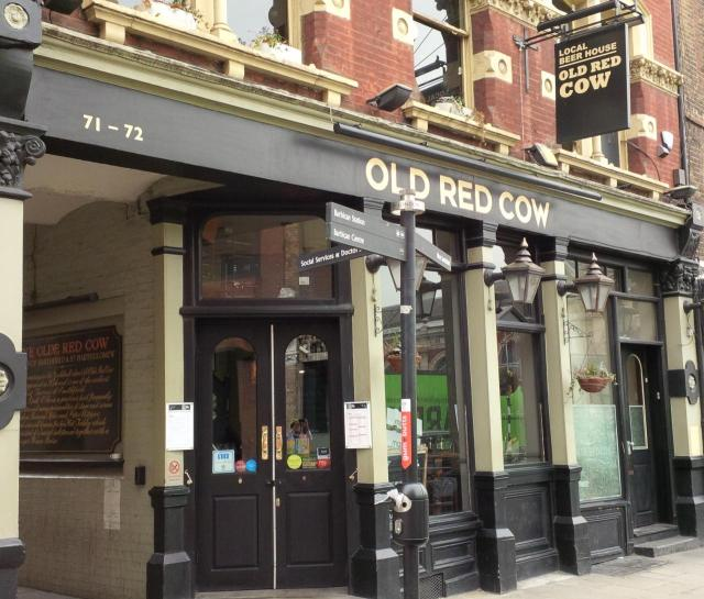 Image of The Old Red Cow